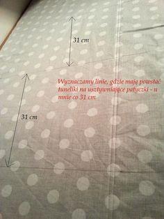 ADELA SZYJE : Jak uszyć roletę rzymską, czyli szycie wg Adeli - instrukcja krok po kroku (tutorial) Diy And Crafts, Sewing, Amigurumi, Simple Lines, Couture, Fabric Sewing, Sew, Stitching, Costura