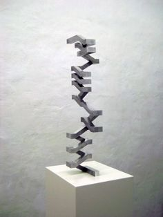 Concrete staircase model
