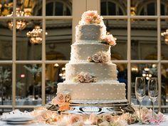 Wedding cake.. Like the dots