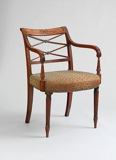 1810 American (New York) Armchair at the Metropolitan Museum of Art, New York