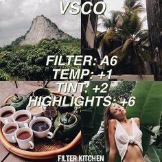 vsco tutorial green look Instagram Theme Vsco, Foto Instagram, Nature Instagram, Instagram Feed, Photography Filters, Photography Editing, Portrait Photography, Photography Trips, Photography Backdrops