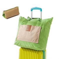 Portable Travel Handbag for Women Picnic Bags Large Capacity Folding Soft Shopping Bag Package Free shipping