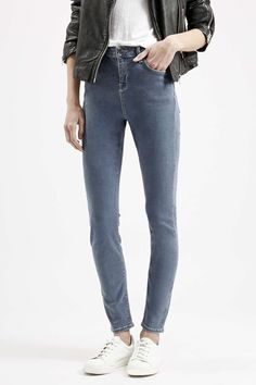 Photo 2 of MOTO Smokey Grey Jamie Jeans