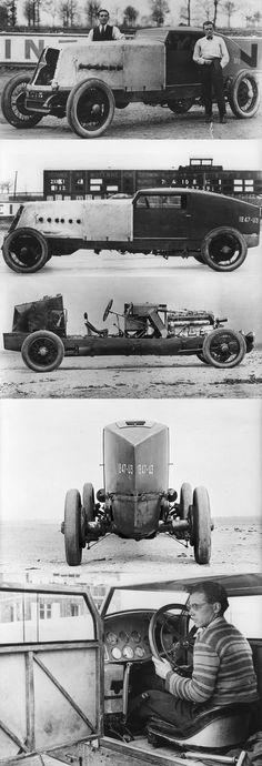 ... A Renault Record Run – Montlhéry, France, 1926