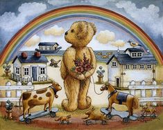 Nita Showers  — Teddy Bear   (700x650)