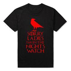 b04b5812b4528 New Male Night s Watch T Shirts Men Round Neck Short Sleeve Summer Style  Game of Thrones Sports Tee Shirt Vintage Boy t-shirts