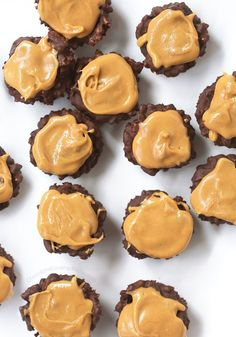 Crispy, crunchy, peanut buttery chocolate crunch cups – made with just 3 ingredients! Sometimes you're invited to an event at the last minute and have literally under an hour to come up with something to bring. At this point, you have TWO options: Option A: Stop at Trader Joes along the way to pick up...View The Recipe »