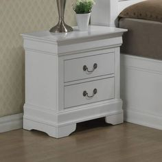 Found it at Wayfair - Corbeil 2 Drawer Nightstand Upholstered Panels, Furniture, Interior, Refurbished Furniture, Drawer Nightstand, Versatile Furniture, Bedroom Decor, Panel Headboard, House Decoration Items