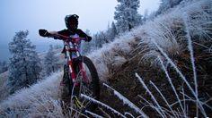 #mtb #nema #spencergraf Nema blogger Spencer Graf takes you on an epic winter ride in Kelowna, BC. Beautiful! #realtruecycling - Nema Downhill MTB