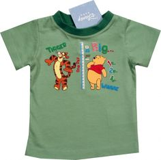 "Tricou oficial Disney ""Winnie & Tigger"", 100% bumbac. Tigger, Disney, Mens Tops, T Shirt, Fashion, Supreme T Shirt, Moda, Tee Shirt, Fashion Styles"