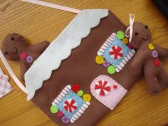 Gingerbread House Purse | Flickr - Photo Sharing!