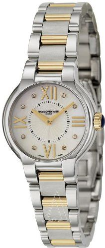 Raymond Weil Womens 5927STP00995 Noemia Two tone Diamond Dial Watch * See this great product.