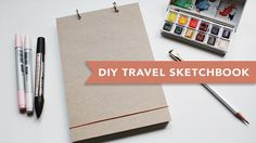 In this video I show you how to make a Muji inspired, minimal style travel sketchbook. Perfect for sketching, list making and more! Paper: http://www.daler-r...