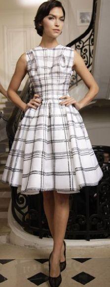 Dior full skirt dress