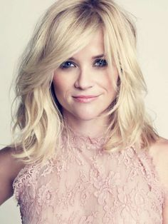 Wavy Hair Reese Witherspoon with short to medium waves beauty,Hair,Hair & Beauty, Shag Hairstyles, Hairstyles With Bangs, Trending Hairstyles, Celebrity Hairstyles, Layered Hairstyles, Shoulder Length Blonde Hairstyles, Summer Hairstyles, Medium Wavy Hairstyles, Shoulder Length Hair Cuts With Layers