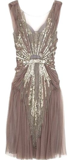 Vintage dress. I love this.
