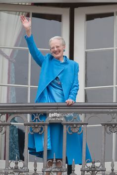 Queen Margrethe II of Denmark attends her 76th Birthday Celebration at Amalienborg Palace on April 16, 2016 in Copenhagen, Denmark