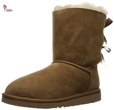 Ugg - Bailey Bow - -, homme, brown (chestnut), taille 36 - Chaussures ugg (*Partner-Link)