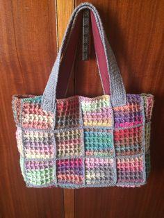 Handbag/Crochet bag I made for myself