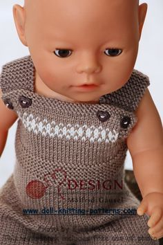 Tough dolls clothes knitting patterns to download