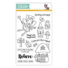 Simon Says Clear Stamps SECRET GARDEN SSS101629 STAMPtember