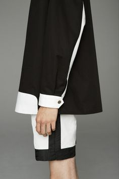 Black and white game outfit