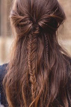Awesome Fishtail Frisuren Half Up Ideen, # . - Awesome Fishtail Frisuren Half Up Ideen, # Frisuren F - Box Braids Hairstyles, Wedding Hairstyles, Popular Hairstyles, Fishtail Braid Hairstyles, Indian Hairstyles, Boho Hairstyles For Long Hair, Medieval Hairstyles, 1940s Hairstyles, Bohemian Hairstyles