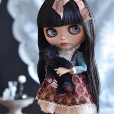 Lydia is still traveling  I feel so anxious when the girls are on the way to their new homes  Emma and Anaïs are travelling too  please mail service, be nice  #mapoupeecherie #doll #ooakdoll #dollstagram #instablythe #blythe #blythedoll #neoblythe