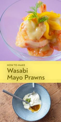 Wasabi Prawns - Asian recipes authentic - Spicy curries, crispy Peking duck or aromatic noodle so Wasabi Recipes, Healthy Asian Recipes, Prawn Recipes, Seafood Recipes, Asian Foods, Spicy Appetizers, Peking Duck, Malaysian Food, Recipes