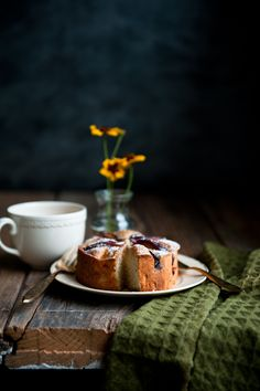 Desserts for Breakfast: Plum, Rosemary, and Brandy Cakes