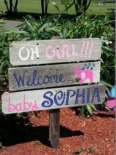 Baby Shower Sign Decorations Its a Boy Sign Its by TRUECONNECTION