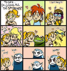 I don't like girls--okay!