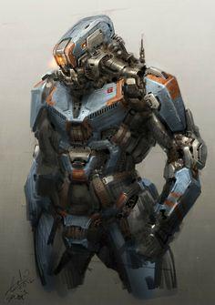 concept robots: Concept robots by Galan Pang