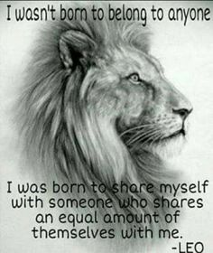 a lion is one of god most amazing creatures he ever created. Leo Horoscope, Astrology Leo, Horoscopes, Leo Zodiac Facts, My Zodiac Sign, Leo Quotes, Qoutes, Honesty Quotes, Lioness Quotes