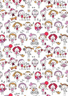 wallpaper Pregnancy pregnancy v back Doodle Art, Doodle Drawings, Easy Drawings, Sketch Notes, Stick Figures, Cute Illustration, Clipart, Painted Rocks, Scrapbook Paper