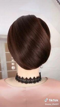 Hair Style Vedio, Hair Up Styles, Colored Hair Tips, Latest Hair Color, Hair Remedies, English Grammar, Bridesmaid Hair, Hair Dos, Up Hairstyles