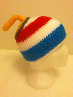 Curling on Ice Hat https://www.facebook.com/MariasCrochet