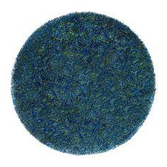BÄLUM Rug, low pile - blue - IKEA
