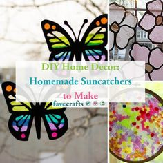17 Homemade Suncatchers to Make Easy Preschool Crafts, Yarn Crafts For Kids, Preschool Art Activities, Recycled Crafts Kids, Paper Plate Crafts For Kids, Kindergarten Art Projects, Christmas Crafts For Toddlers, Valentine Crafts For Kids, Summer Crafts For Kids