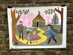 Rare Vintage Retro French Children's Fairytale by AbsolutelyNice, £50.00