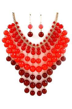 collier lariat collier plastron ras du cou collier par Paulafashion, $16.00