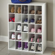 Online Buy 25 Pair Stackable Shoe Rack By ClosetMaid Shoe Storage Containers, Diy Shoe Rack, Shoe Shelves, Shoe Storage Cabinet, Bench With Shoe Storage, Storage Spaces, Shelving, Storage Shelves, Shoe Cubby
