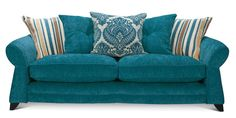This would be great for the living room! We now have teal curtains in the living room and opted for duck egg blue in the dining room...