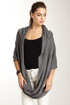 Rock by Stella & Jamie Rosie Hoodie Cowl Sweater | Keep the Glamour | BeStayBeautiful