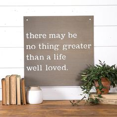 Our Life Well Loved Sign is an exclusive sign designed for Valentine's Day. These metal signs are made right here in Waco and make for a great gift for your lov