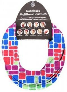 Multifunktionstuch Funny Presents, Headband Bun, Mosaics