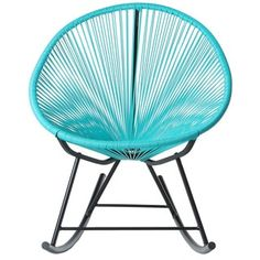 Acapulco Woven Basket Lounge Chair, Red | Overstock.com Shopping - The Best Deals on Patio Chairs