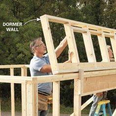 Building A Garage, Garage Shed, Shed Building Plans, Shed Roof, Backyard Storage Sheds, Storage Shed Plans, Bike Storage, Wood Shed Plans, Diy Shed Plans