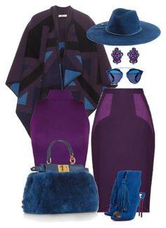 violet purple blue