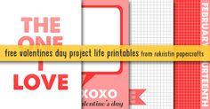 rukristin papercrafts: Free Valentine's Day Printables
